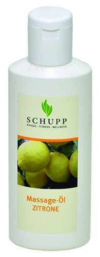 Schupp Massage-Öl Zitrone 200 ml