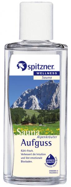 Spitzner Saunaaufguß Alpenkräuter 190 ml