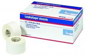 BSN Leukotape classic Sport Tape   weiß 12 Rollen 3,75 cm