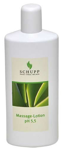Schupp Massage-Lotion ph 5,5 6 x 1000 ml + 1 Spender