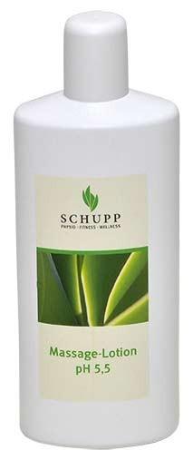 Schupp Massage-Lotion ph 5,5 6 x 1000 ml + 1 Spender