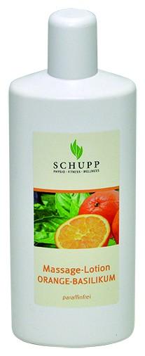Schupp Massage-Lotion Orange-Basilikum 6 x1000 ml + 1 Sp