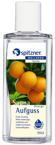 Spitzner Saunaaufguss Orange 190 ml