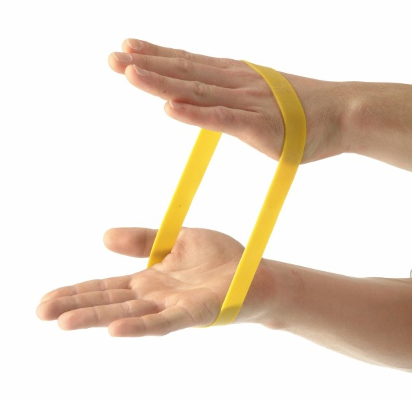 Rubberband (Mini-Rubber) Gelb Leicht