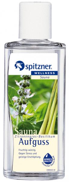 Spitzner Saunaaufguss Zitronengras-Basilikum 190 ml