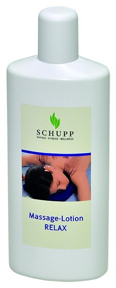 Schupp Massage-Lotion Relax 6 x 1000 ml + 1 Spender