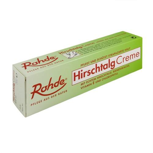 Rohde Hirschtalgcreme 100 ml + 2 Baumwollhandschuhen