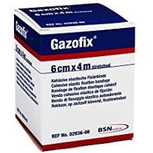 Fixierbinde GAZOFIX  8cm x 4 m, gedehnt, 1 pck.