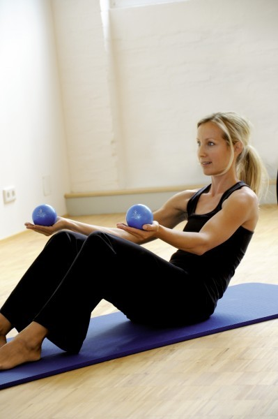 Sissel Pilates Toning Ball 2-er Set