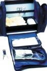 Pflegetasche Pflegediensttasche blau klein