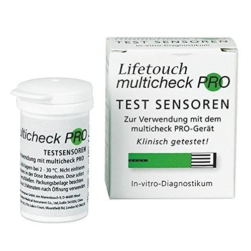 Lifetouch Multicheck Harnsäure-Sensoren