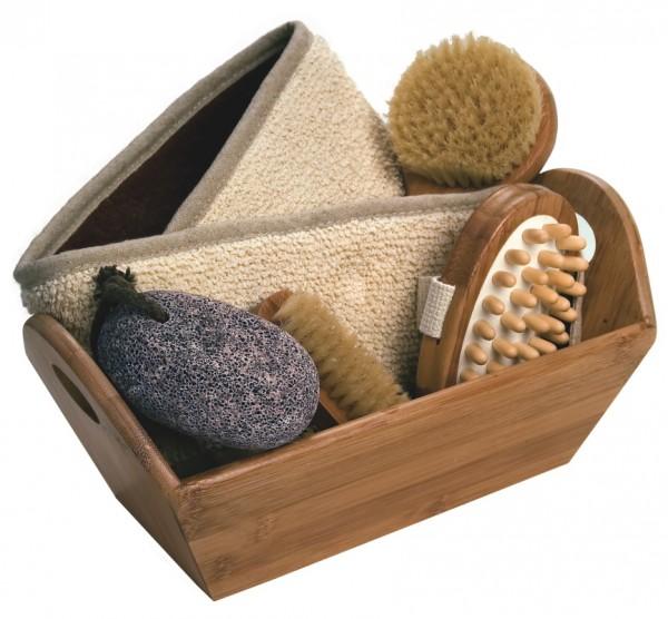 Geschenkset Bambusbox 40018