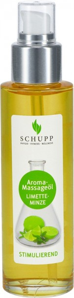 Aroma Massageöl Limette-Minze