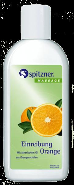 Spitzner Einreibung Orange