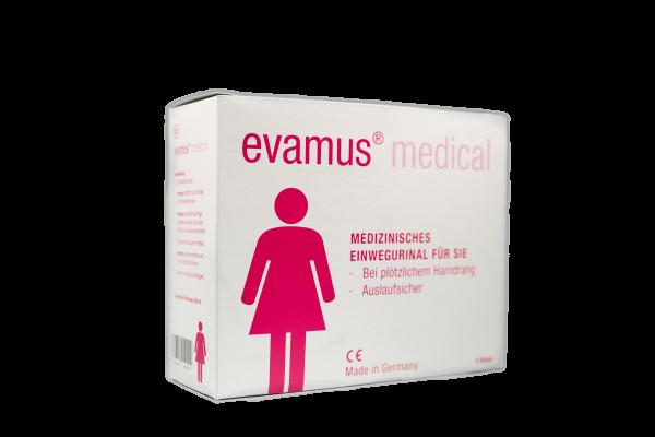 Evamus- das Notfall-WC für Frauen ideale Campingtoilette, Reisetoilette