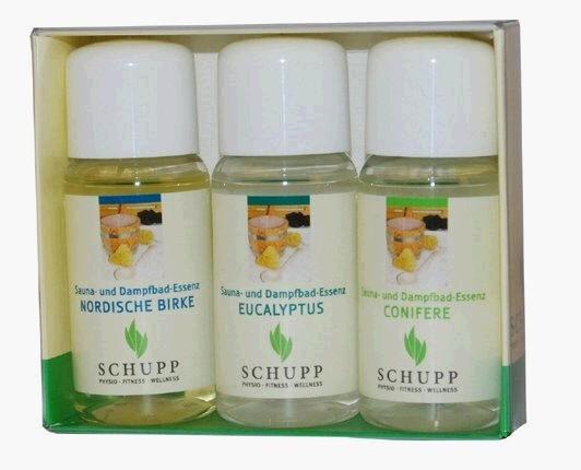 """Schupp Sauna-und Dampfbad Essenz """"Sun-Line"""" Geschenkset"""
