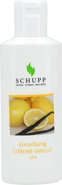 Schupp Einreibung Citrone Vanille