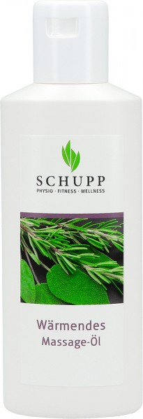 Schupp wärmendes Massage-Öl
