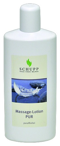 Schupp Massage-Lotion Pur paraffinfrei