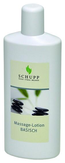 Schupp Massage-Lotion Basisch