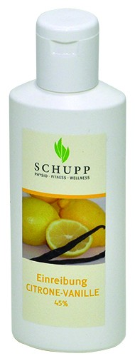Schupp Einreibung Citrone-Vanille